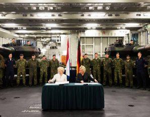 Duits-Nederlandse militaire samenwerking - bron Ministerie van Defensie